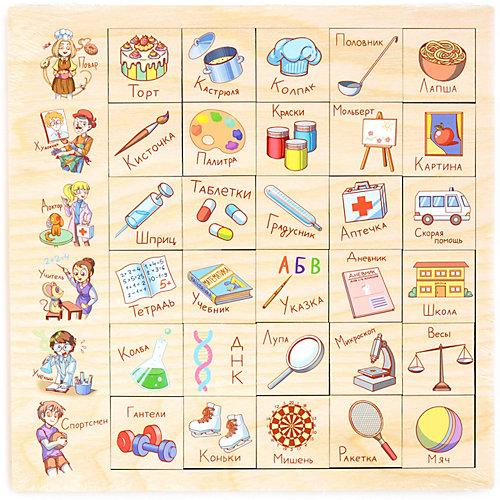 """Игровой набор Paremo"""" Ассоциации"""" Профессия, 30 элементов от PAREMO"""
