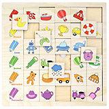 """Игровой набор Paremo"""" Ассоциации"""" Цвет, 30 элементов"""