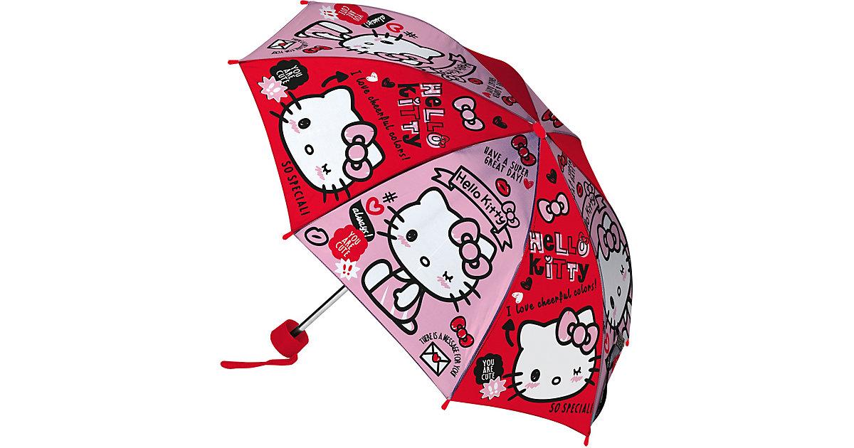 Taschenschirm Hello Kitty weiß-kombi