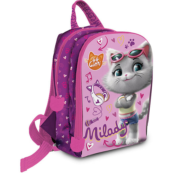Kinderrucksack 44 Cats pink