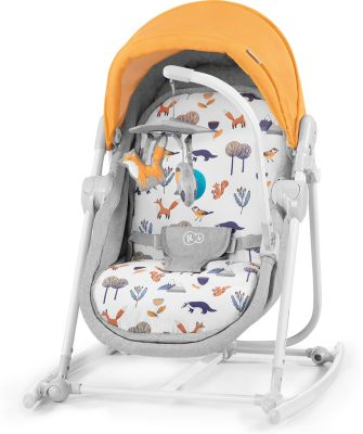 Babywippe Unimo 2020, 5in1, gelb