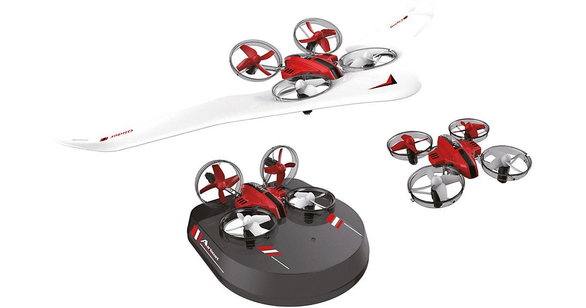 Air Genius , All- in-One: Drohne, Gleiter und Luftkissenfahrzeug