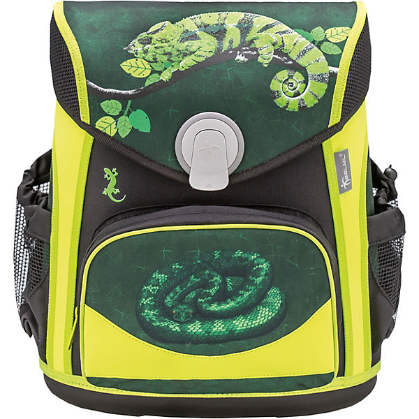 Schulranzenset Cool Bag Reptile, 4-tlg.