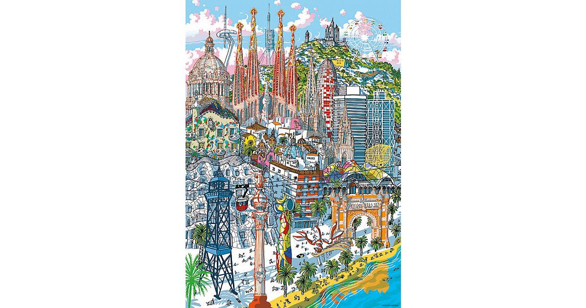 Citypuzzle Barcelona, 200 Teile