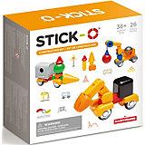 Магнитный конструктор Stick-O Construction Set, 902004