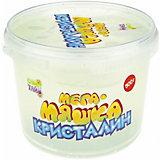 """Слайм 1Toy """"Мега-Мяшка"""" Кристалин, 500 г"""