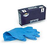 Перчатки нитриловые неопудренные L 100 шт.