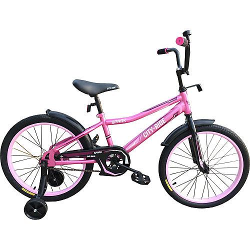 """Двухколёсный велосипед City-Ride Spark 14"""" от City-Ride"""