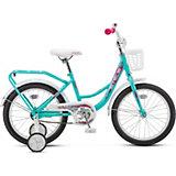 Детский велосипед Stels Flyte Lady 18 (Z011) бирюзовый