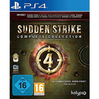 PS4 Sudden Strike 4: Complete Collection
