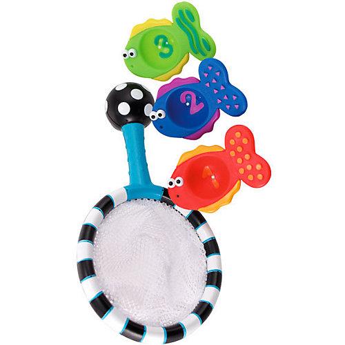 Набор игрушек для ванны Sassy Сачок с рыбками от Sassy