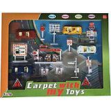 Игровой набор Fun Toy Дорожный, с игровым ковриком