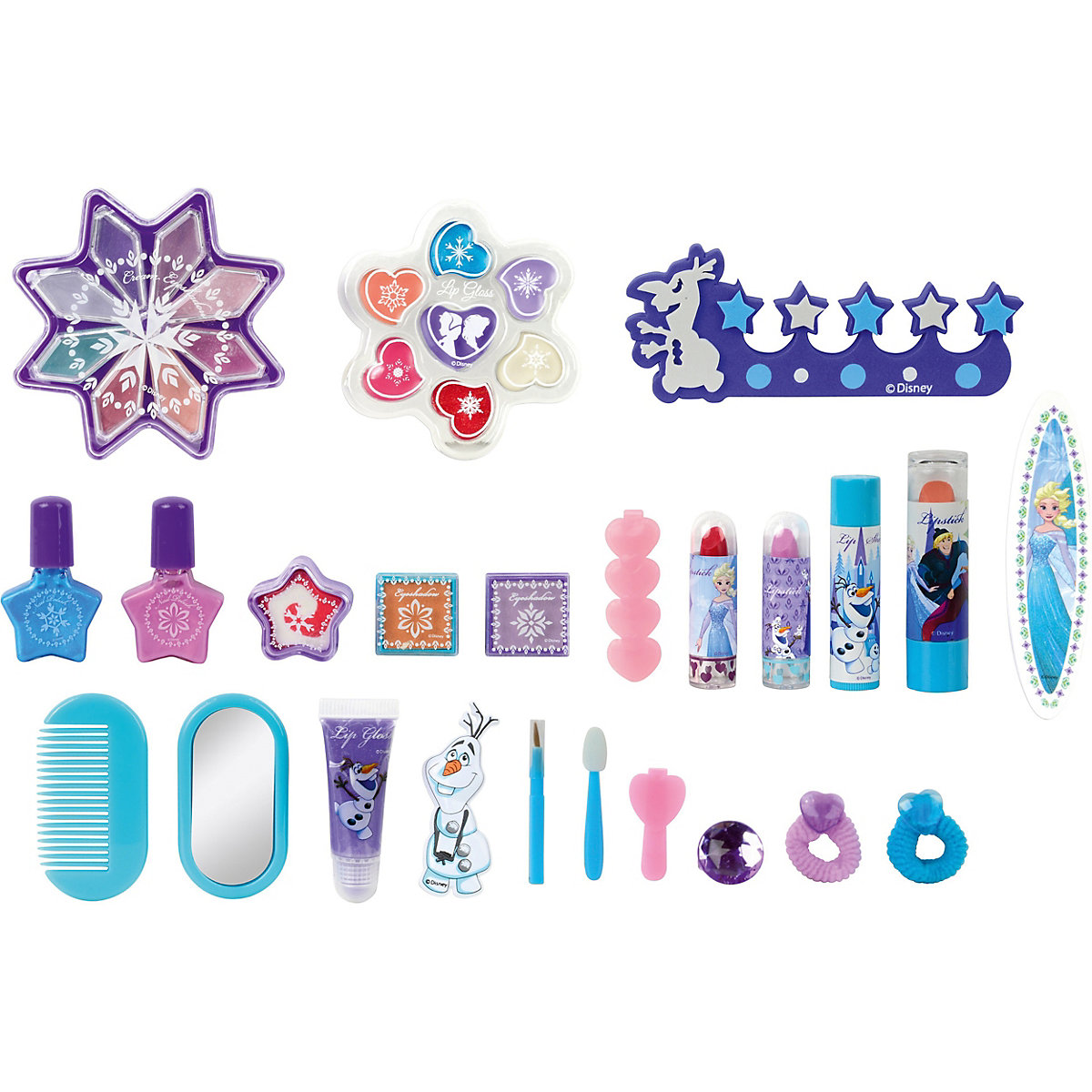 Inhalt FROZEN II Beauty Adventskalender 2020