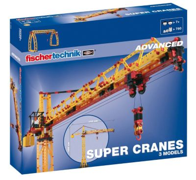 Fischertechnik ADVANCED ´´Super Cranes´´ - Baukasten