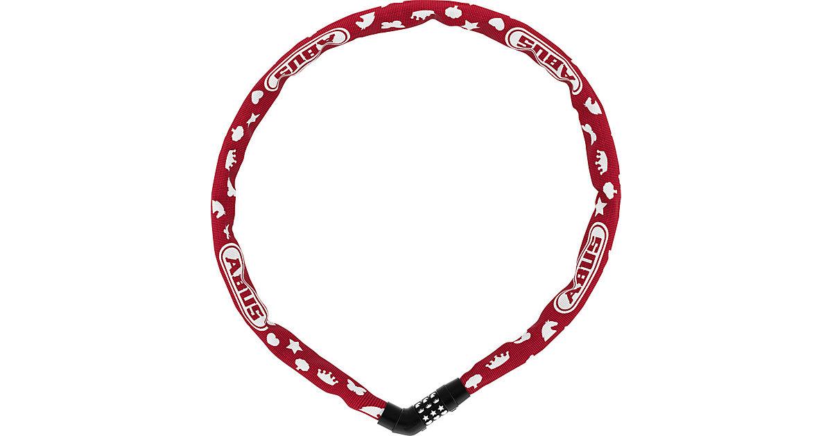 Kettenschloss Symbols rot / Länge 75 cm