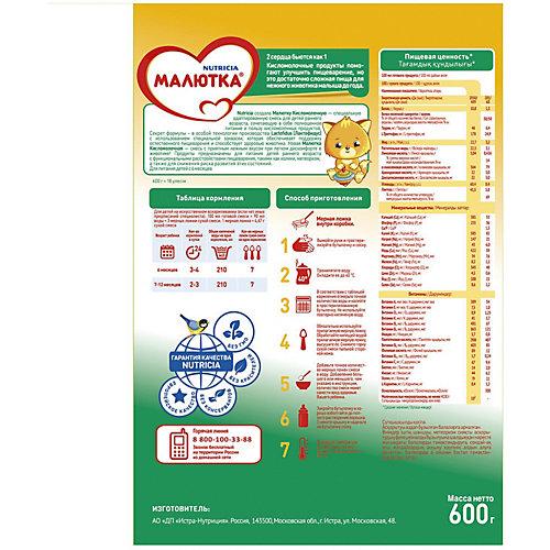 Молочная смесь Малютка 2 Кисломолочная, с 6 мес, 600 г от Малютка