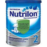 Молочная смесь Nutrilon 2 Кисломолочный, с 6 мес, 400 г