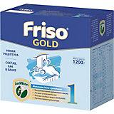 Молочная смесь Friso Gold 1, с 0 мес, 1200 г