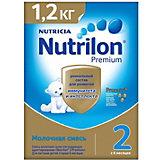 Молочная смесь Nutrilon Premium 2, с 6 мес, 1200 г