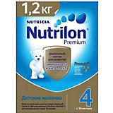 Детское молочко Nutrilon Junior Premium 4, с 18 мес, 1200 г