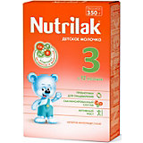 Молочный напиток Nutrilak 3, с 12 мес, 350 г