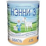 Молочный напиток на основе козьего молока Нэнни 3, с 12 мес, 800 г