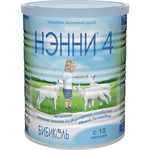 Молочный напиток на основе козьего молока Нэнни 4, с 18 мес, 800 г от Бибиколь