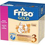 Молочная смесь Friso Gold 3, с 12 мес, 1200 г