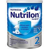 Молочная смесь Nutrilon Комфорт 2, с 6 мес, 800 г