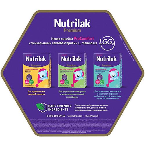 Молочная смесь Nutrilak Premium Кисломолочный, с 0 мес, 350 г от Nutrilak