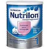Молочная смесь Nutrilon 1 гипоаллергенный, с 0 мес, 400 г