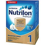 Молочная смесь Nutrilon Premium 1, с 0 мес, 600 г