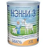 Молочный напиток на основе козьего молока Нэнни 3, с 12 мес, 400 г