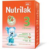 Молочный напиток Nutrilak 3, с 12 мес, 600 г