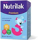 Молочный напиток Nutrilak Premium 3, с 12 мес, 600 г