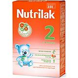 Молочная смесь Nutrilak 2, с 6 мес, 350 г