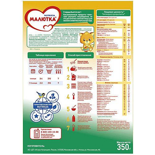 Молочная смесь Малютка 2 Кисломолочная, с 6 мес, 350 г от Малютка