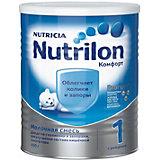 Молочная смесь Nutrilon Комфорт 1, с 0 мес, 400 г