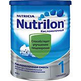 Молочная смесь Nutrilon 1 Кисломолочный, с 0 мес, 400 г