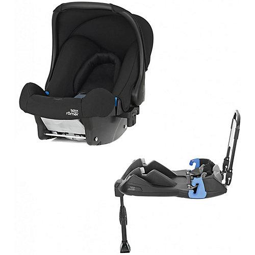Автокресло Britax Romer Baby-Safe Cosmos Black  0-13 кг с ременной базой от Britax Römer