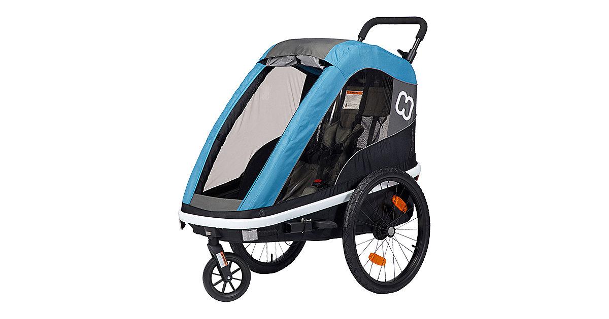 Fahrradanhänger AVENIDA ONE(incl. bicycle arm & stroller wheel) petrol