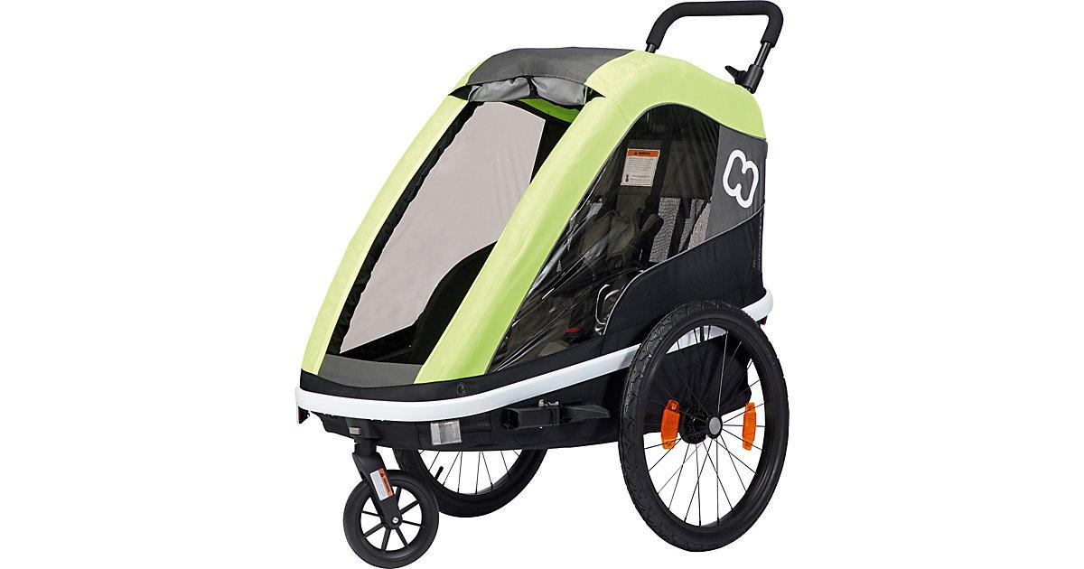 Fahrradanhänger AVENIDA ONE (incl. bicycle arm & stroller wheel) New: suspension lime