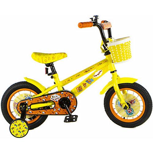 """Двухколёсный велосипед 1Toy Три Кота 12"""" от 1Toy"""