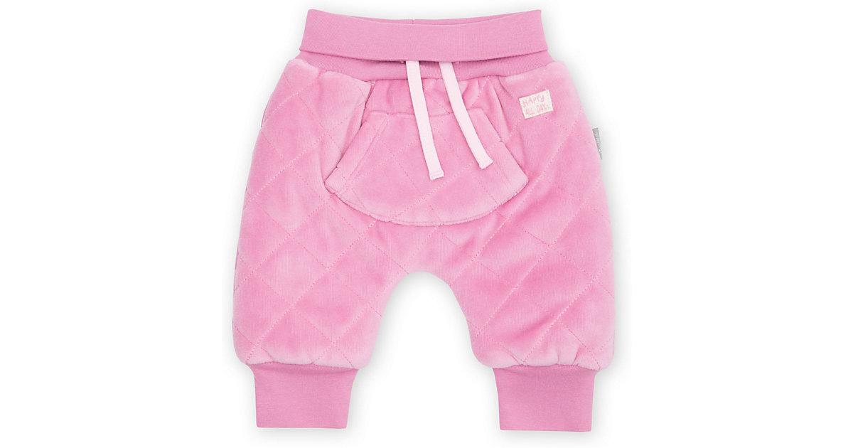 Baby wattierte Nicki Pumphose  rosa Gr. 68 Mädchen Baby