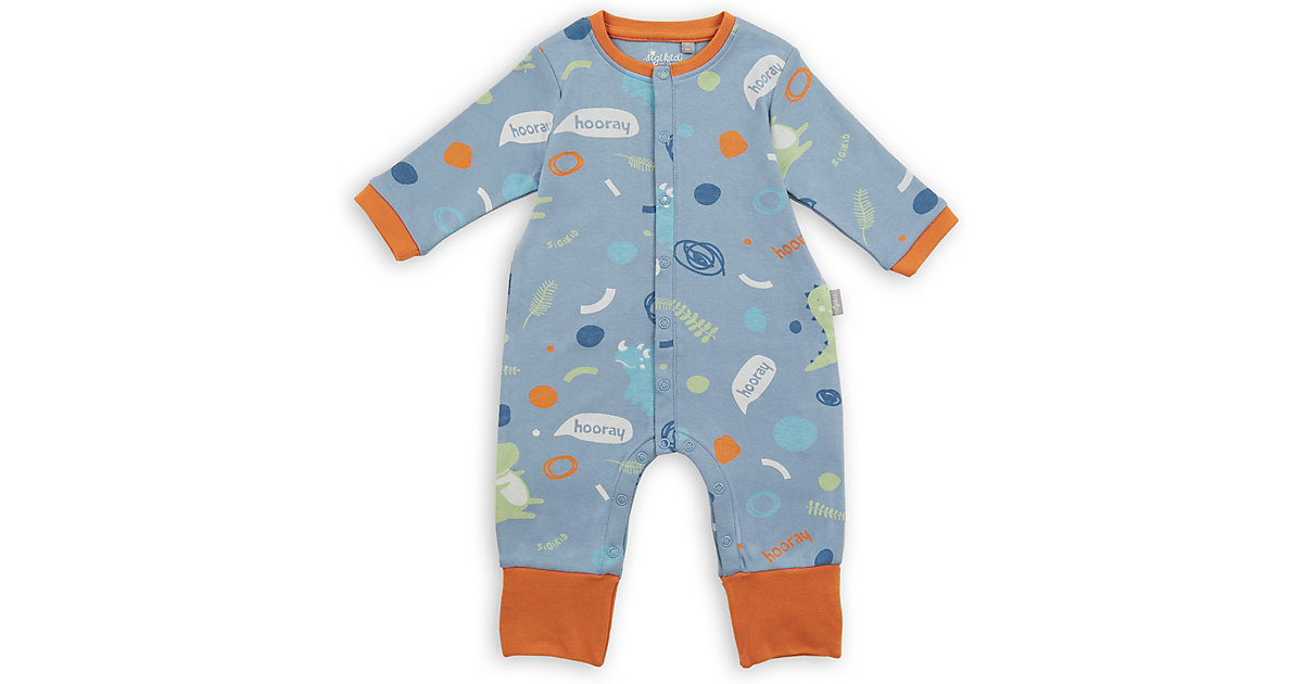 Baby Nachtwäsche Overall  blau Gr. 56 Jungen Baby