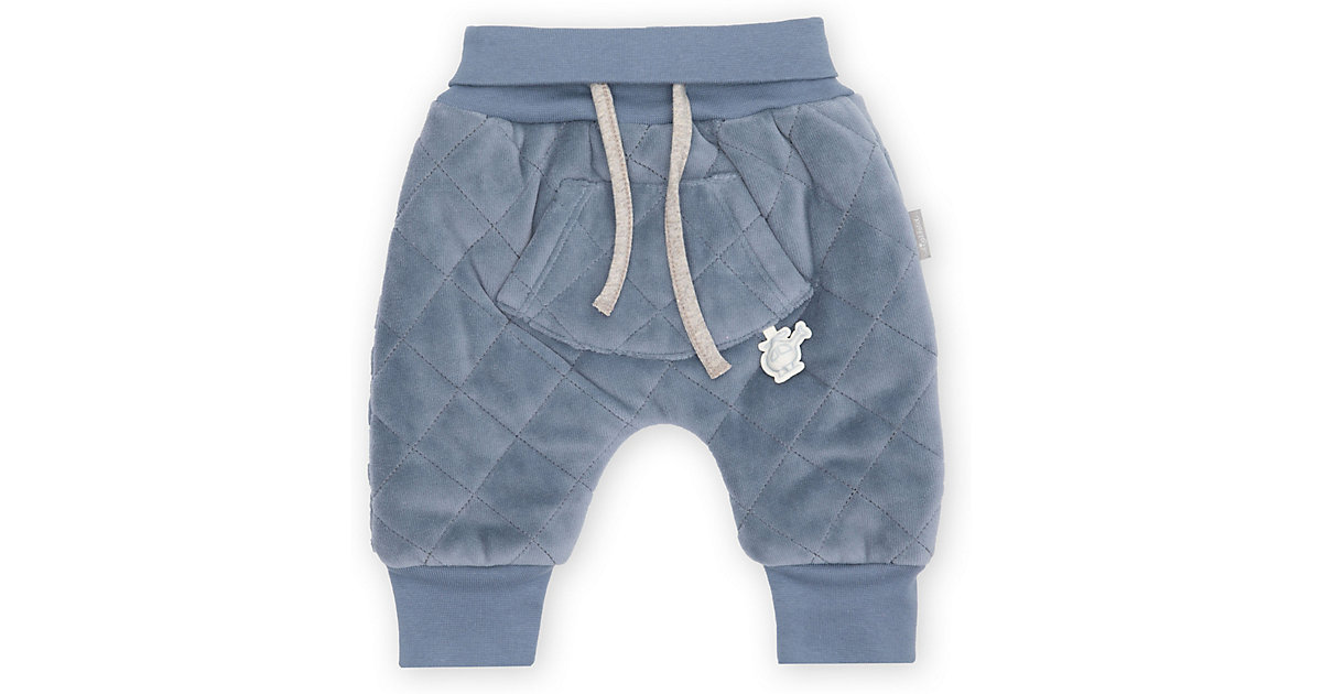 Baby wattierte Nicki Pumphose  blau Gr. 50 Jungen Baby