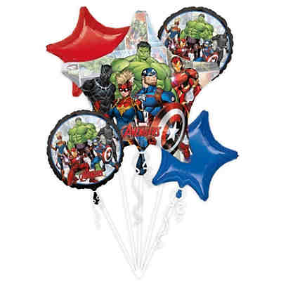 Folienballon-Bouquet Marvel Avengers Power Unite