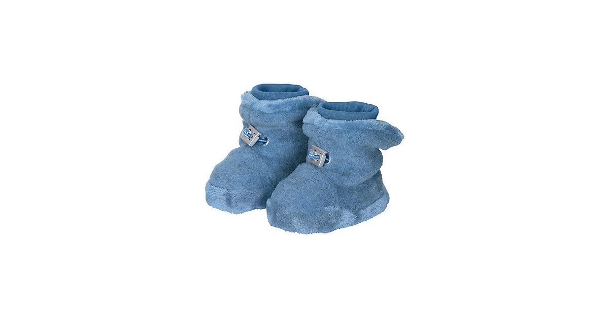Stoffschuhe Winter Baby-Schuh Winterschuhe blau Gr. 16 Jungen Baby