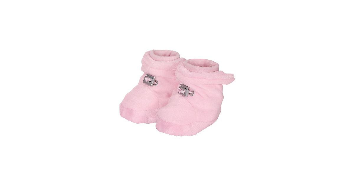 Stoffschuhe Winter Baby-Schuh Winterschuhe rosa Gr. 16 Jungen Baby