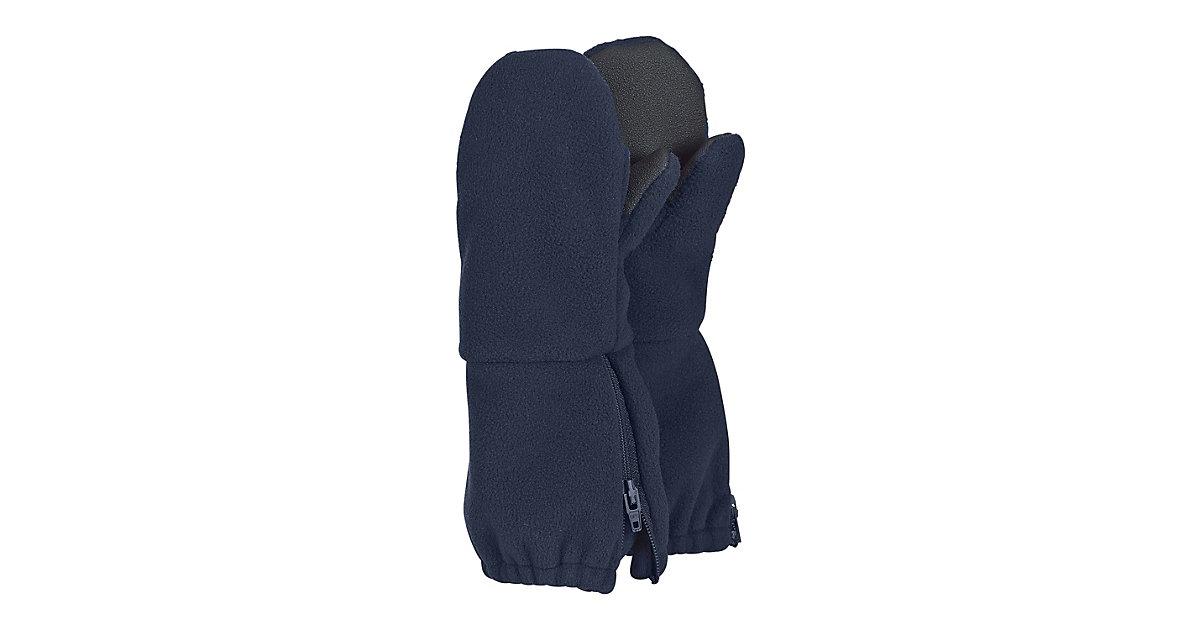 Handschuhe Kleinkind Project Stulpen-Handschuh Fausthandschuhe dunkelblau Gr. 1 Jungen Kinder